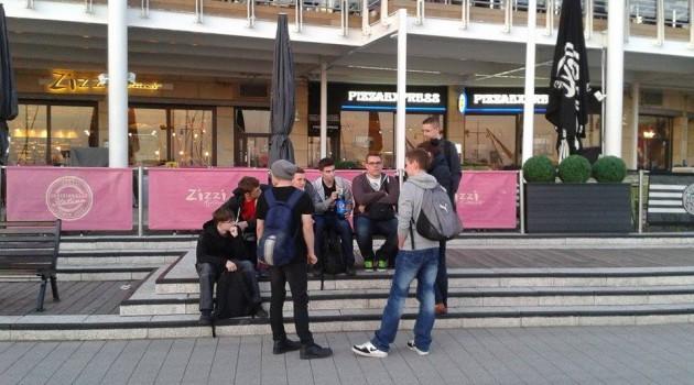 Pierwsze dni II grupy w Portsmouth